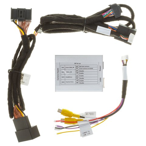 Front and Rear View Camera Connection Adapter for Range Rover Discovery 5/Range Rover Sport Preview 4