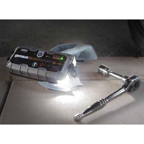 Пускозарядное устройство для автомобильного аккумулятора GB20 - Просмотр 5