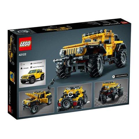 Конструктор LEGO Technic Jeep Wrangler 42122 Превью 4