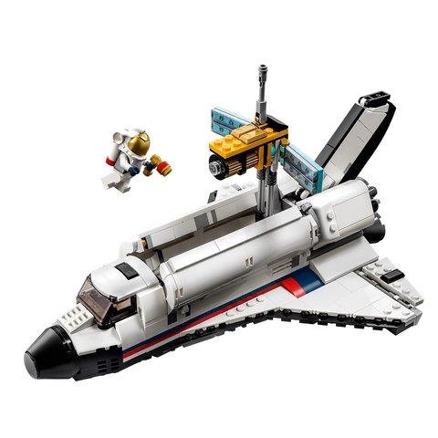 Конструктор LEGO Creator Пригоди на космічному шатлі 31117 Прев'ю 2