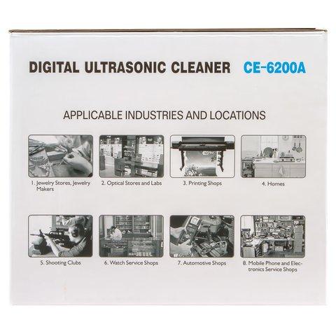 Ultrasonic Cleaner Jeken CE-6200A Preview 10