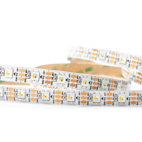 RGBWW LED Strip SMD5050, SK6812 (white, with controls, IP20, 5 V, 60 LEDs/m, 1 m) Preview 1